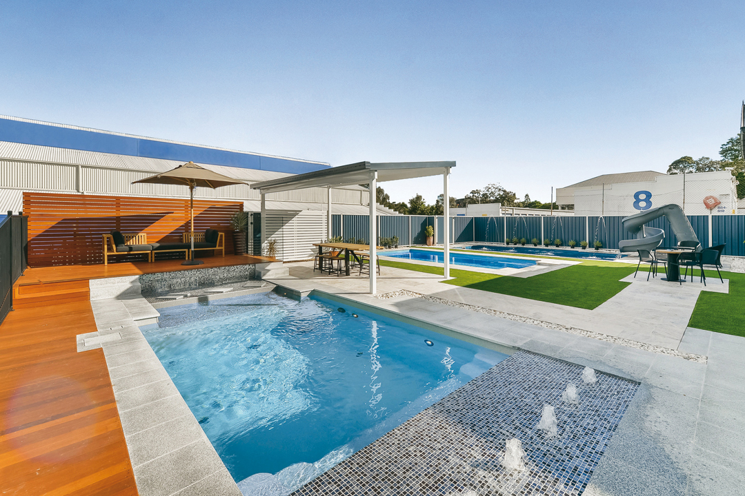 Charming swimming pool designs queensland photos simple for Pool design qld