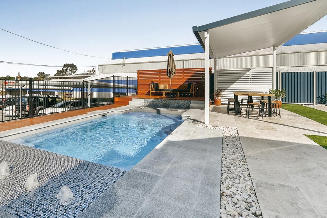 Esana aquatics queensland pool and outdoor design for Pool design queensland