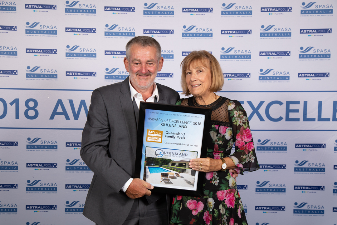 Concrete Pool Builder of the Year – Gold