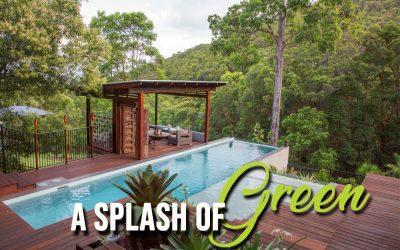 A Splash Of Green